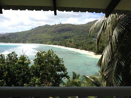 Lazare Picault Hotel: Terrasse avec vue sur la baie