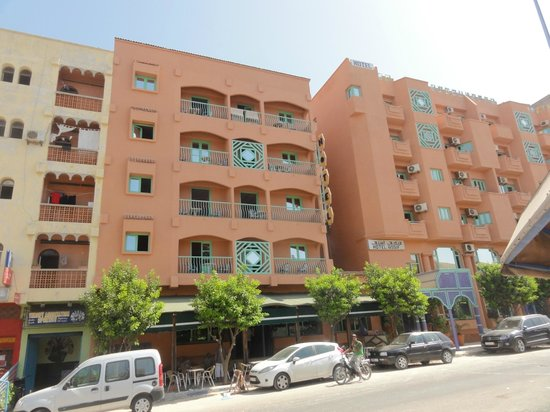 Hotel Assif: View from the street
