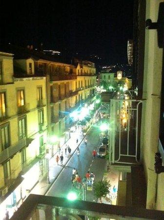 Sorrento Flats: vista dal balconcino stanza