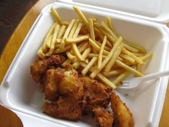 fish and chips フーサヴィーク fish and chipsの写真 トリップ