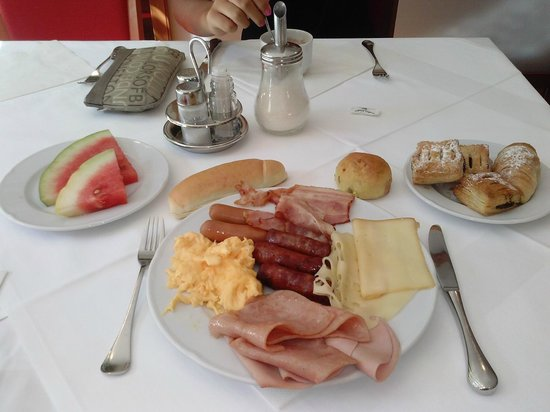 Hotel Ivka: Colazione