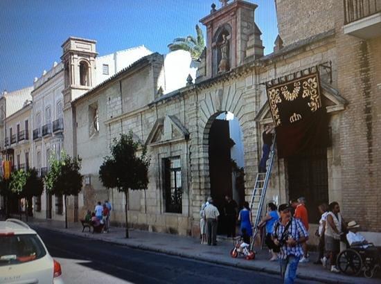 Los Remedios Convent : fachada convento Ntra. Señora de los Remedios