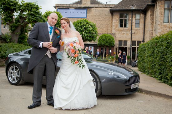 The William Cecil at Stamford: wedding day