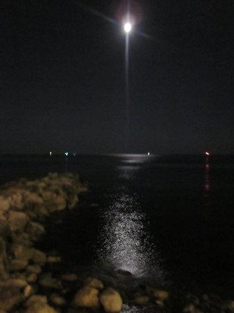 Riflesso Della Luna Sul Mare Romantico Picture Of Andrea Doria