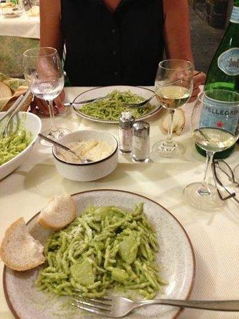 Affittacamere Marco: Trofie al Pesto
