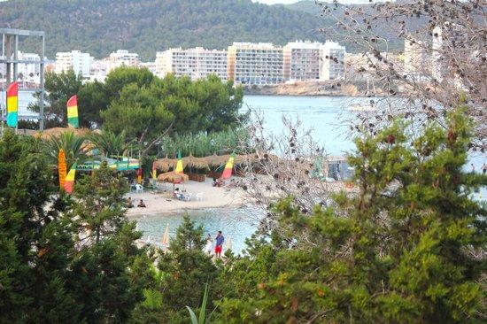 Ba Bonaire Style Apartments: vista desde el balcon