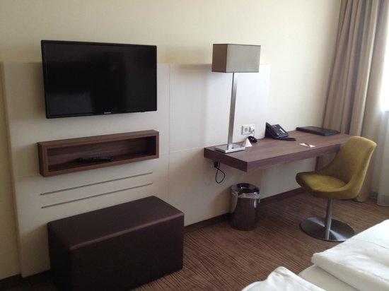 โรงแรม ออสเตรียเทรนด์ ดอปปิโอ: Veduta parziale stanza