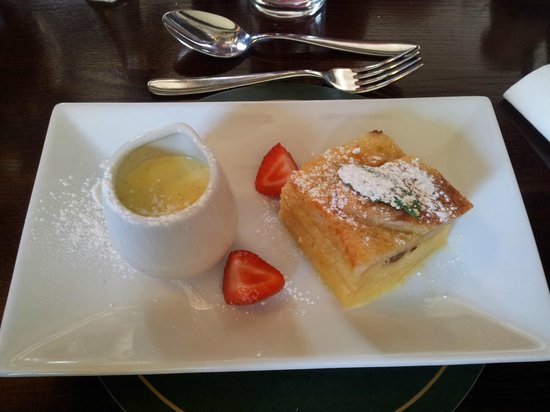 The Castle Inn Hotel: Pudding