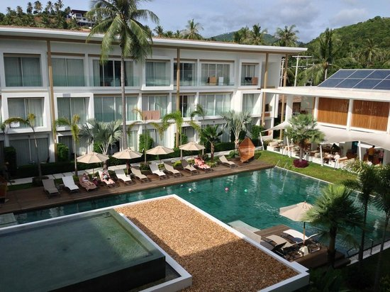 Lanna Samui: view from our suite