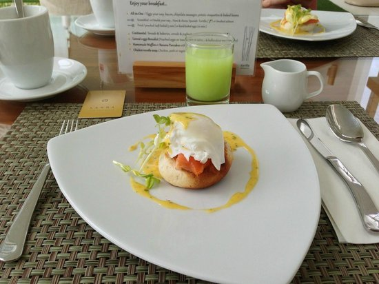 Lanna Samui: breakfast a la carte
