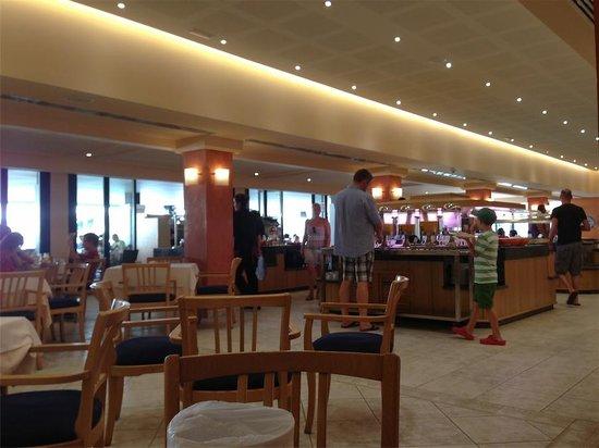 Aparthotel & Hotel Isla de Cabrera: buffet desayuno o cena