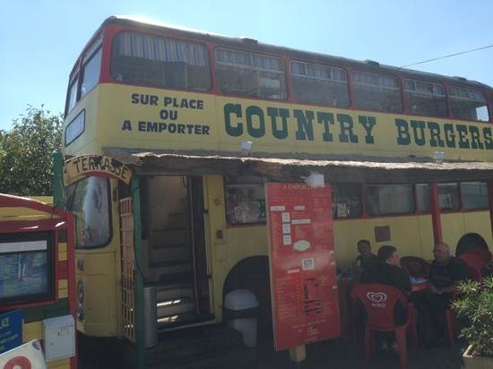 Country Burguers : le country bus