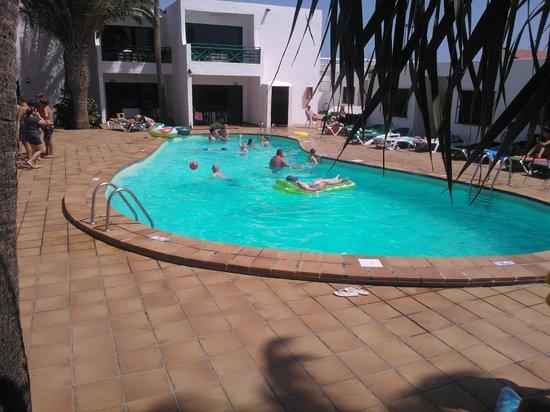 Rocas Blancas Apartments: la piscina