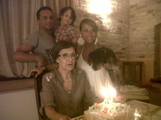 Ristorante Il Gattopardo: Compleanno di Daniela