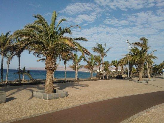 Rocas Blancas Apartments : vista mare a pochi passi