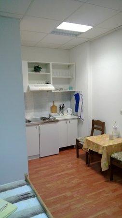 Apartments Sustic: Backyard, ground floor room (3 bed)