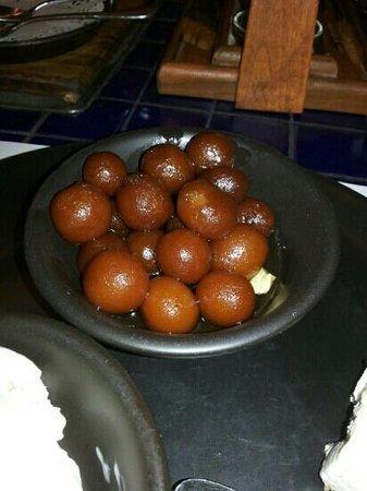 Barbeque Nation: anguri gulabjamuns