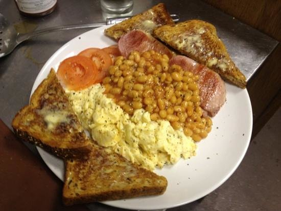 Nonna Cappuccini's: wide variety of breakfast