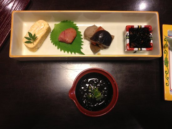 Zen Oyado Nishitei: Breakfast part 1