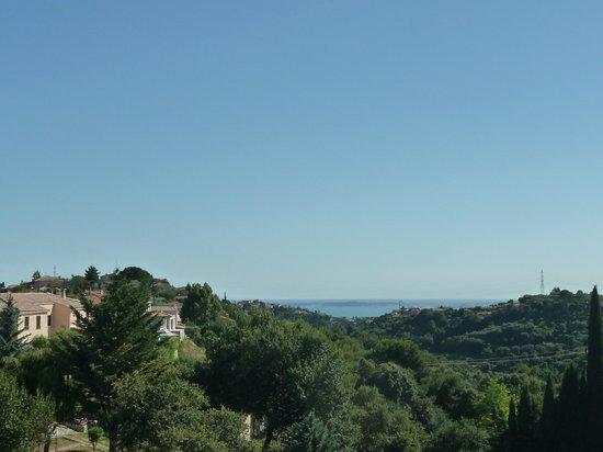 Villa Hestia : vue depuis la chambre