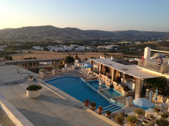 Sunset View Hotel: Panorama