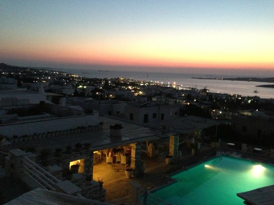 Sunset View Hotel & Apartments: Panorama