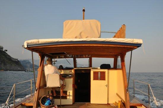 Le Sirenuse Hotel : Sunset cruise