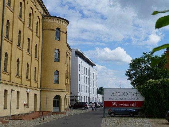 arcona Hotel am Havelufer: Gelungene Architektur
