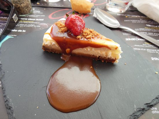 D'ici Et D'Ailleurs : cheesecake caramel beurre salé