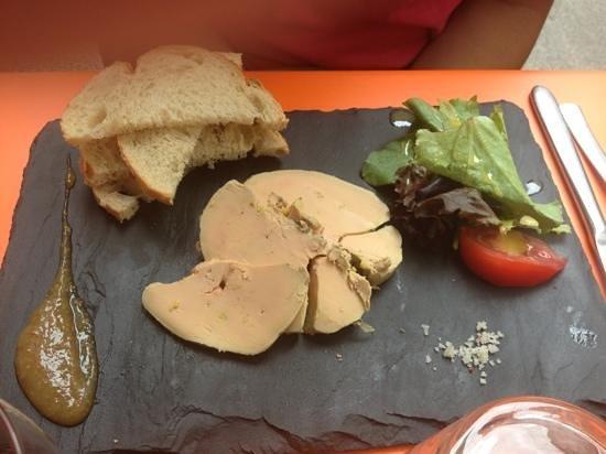 la diva : terrine de foie gras maison