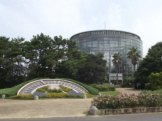 Inage Ocean Park: 花時計と温室