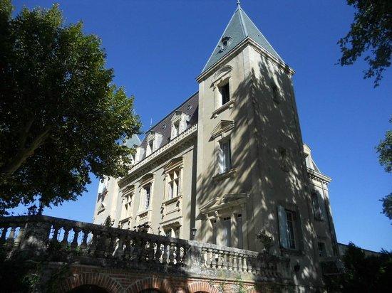 château le Martinet : la batisse superbe