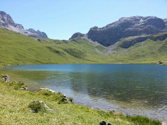 Colle del Piccolo San Bernardo: le lac de la plagne