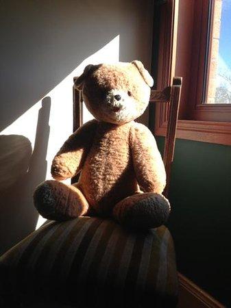 Elizabeth Manor House: Well loved teddy bear friend!