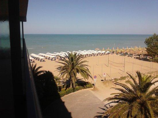 Grand Hotel Berti: vista dal balcone della camera