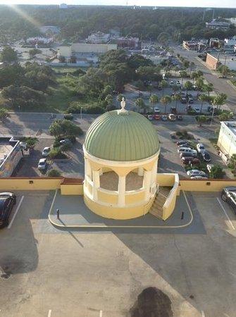 Camelot By The Sea, Oceana Resorts: point du vue de la ville lorsque dans la tourelle