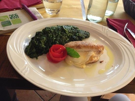 Trattoria Gabriello from 1858 : suprema di pollo e spinaci