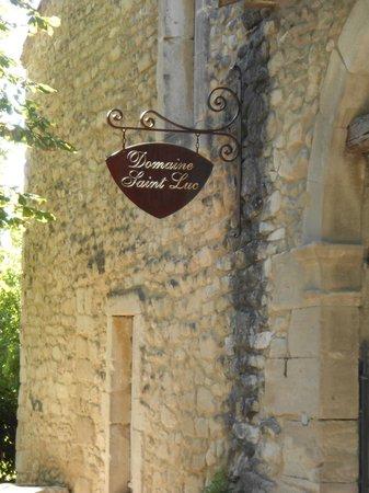Domaine Saint Luc : Sign
