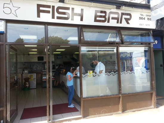 Image Five Star Fish Bar in South Wales