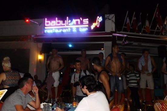 Babylon's restaurant: exercise classes lol