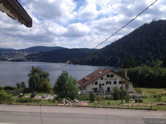Les Reflets du Lac : vue de la chambre 17