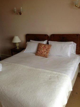 Tredethy House: Unser Bett