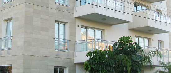 Nicosia Suites - Front Entrance