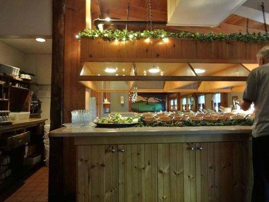 The Barnsider Restaurant Salad Bar