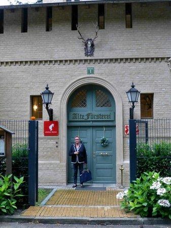 Gasthaus Alte Forsterei: Eingang