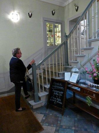 Gasthaus Alte Forsterei: Eingang zum Restaurant
