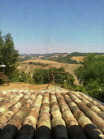 Country House La Valle del Vento : Splendida veduta dalla nostra camera