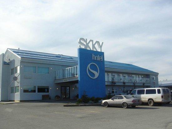 SKKY Hotel: Entrée de l'hôtel