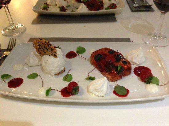 Gylly Beach Cafe: Unser Nachtisch ! Lecker!