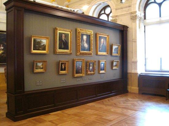 Art Museum RIGA BOURSE: Room with 18th-century portraits